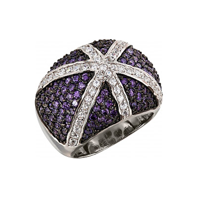 Серебряное кольцо Ювелирное изделие 99611