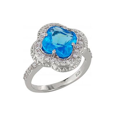 Серебряное кольцо Ювелирное изделие 99899 серебряное кольцо ювелирное изделие 106235