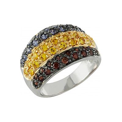 Серебряное кольцо Ювелирное изделие 99912 jv женское серебряное кольцо с куб циркониями sr01924czzsw 1 001 wg 17