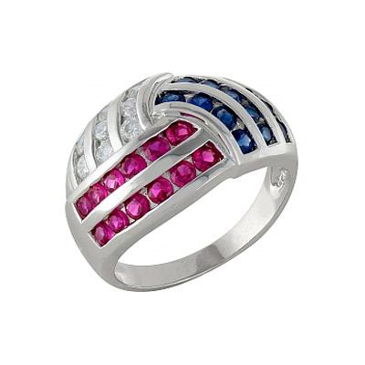 Серебряное кольцо Ювелирное изделие 99922 кольца колечки кольцо краса имитация коралла