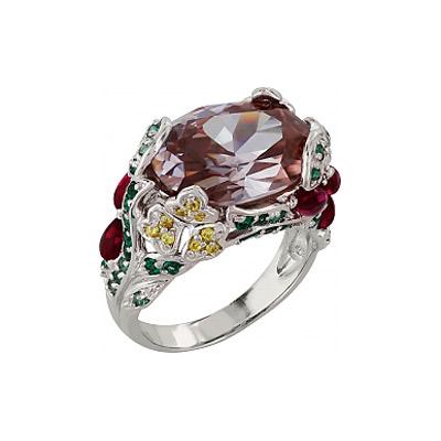 Серебряное кольцо Ювелирное изделие 99930 ювелирное изделие 65445
