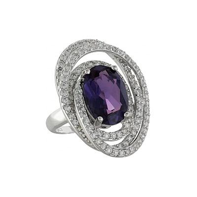 Серебряное кольцо Ювелирное изделие 99936 магия золота серебряный кулон с имитац корунда куб циркониями и эмалью mg99891z en