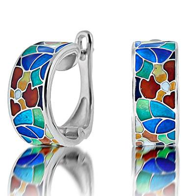 Серебряные серьги Ювелирное изделие marmelad101e серебряные серьги ювелирное изделие 77526