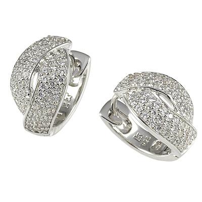 Серебряные серьги Ювелирное изделие M0361E_90_03