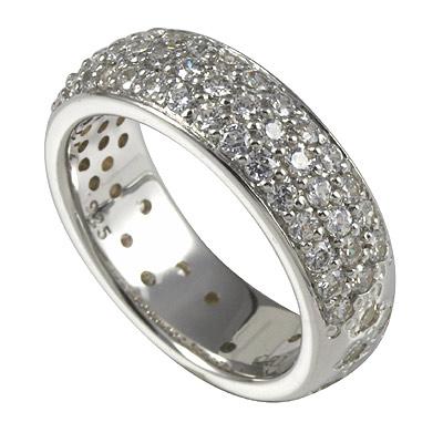 Серебряное кольцо Ювелирное изделие M0431R_90_03 кольцо серебро куб цирконий