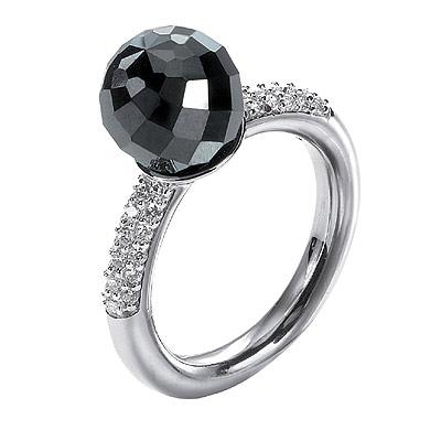 Серебряное кольцо Ювелирное изделие M0449R_90_B5