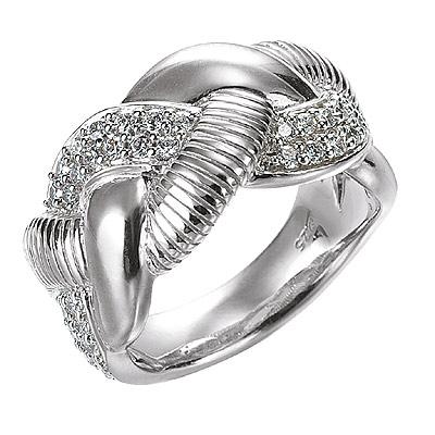 Серебряное кольцо Ювелирное изделие M0496R_90_03 кольцо серебро куб цирконий