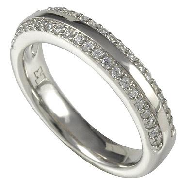 Серебряное кольцо Ювелирное изделие M0504R_90_03 кольцо серебро куб цирконий