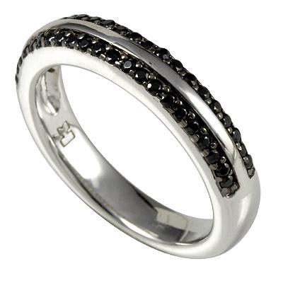 Серебряное кольцо Ювелирное изделие M0505R_90_43 кольцо серебро куб цирконий