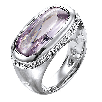 Серебряное кольцо Ювелирное изделие M0513R_90_73 кольцо серебро куб цирконий