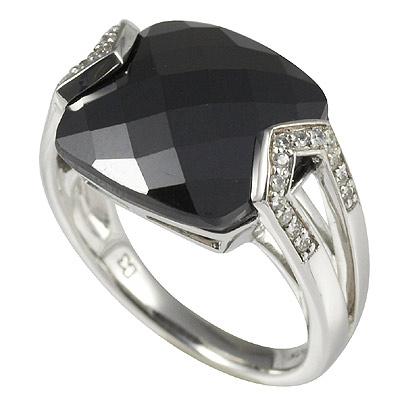 Серебряное кольцо Ювелирное изделие M0534R_90_24 кольцо серебро куб цирконий