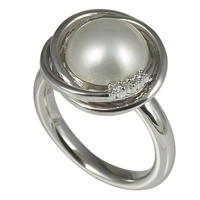 Серебряное кольцо Ювелирное изделие M0544R_90_H8 feuille 0544 салатник овальный v 200мг цвет белый с красным