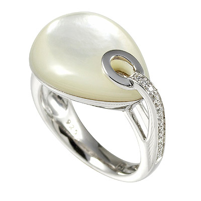Серебряное кольцо Ювелирное изделие M0567R_90_J3 кольцо серебро куб цирконий