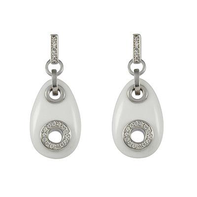 Серебряные серьги Ювелирное изделие M0584E_90_44