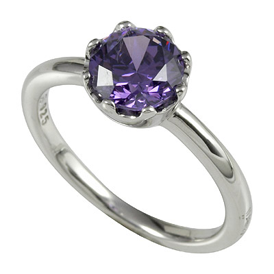 Серебряное кольцо Ювелирное изделие M0603R_90_C6 кольцо серебро куб цирконий