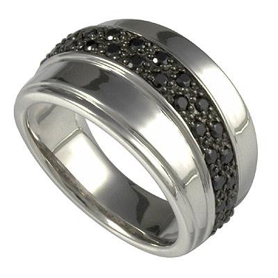 Серебряное кольцо Ювелирное изделие M0605R_90_43 кольцо серебро куб цирконий