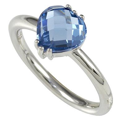 Серебряное кольцо Ювелирное изделие M0612R_90_76 кольцо серебро куб цирконий