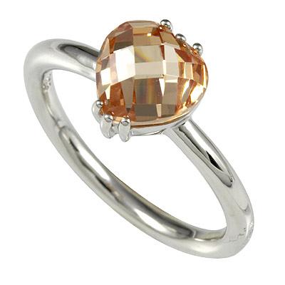 Серебряное кольцо Ювелирное изделие M0612R_90_A3 кольцо серебро куб цирконий