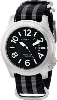 Momentum Часы Momentum 1M-SP74B7S. Коллекция STEELIX