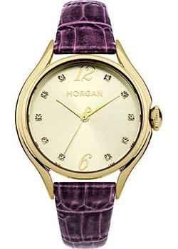 Morgan Часы Morgan M1217VG. Коллекция MADELEINE джемпер morgan morgan mo012ewzim64