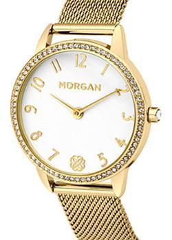 цена Morgan Часы Morgan M1261GM. Коллекция Caroline