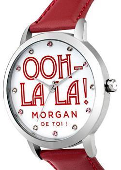 где купить Morgan Часы Morgan M1276R. Коллекция Brigitte дешево