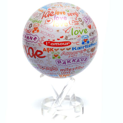 Mova Globe Самовращающийся глобус Mova Globe MG-45-LOVE mova globe самовращающийся глобус mova globe mg 45 moon