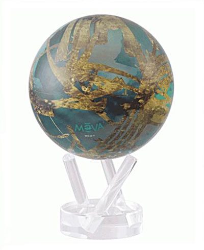 Mova Globe Самовращающийся глобус Mova Globe MG-6-TITAN mova globe самовращающийся глобус mova globe mg 45 moon