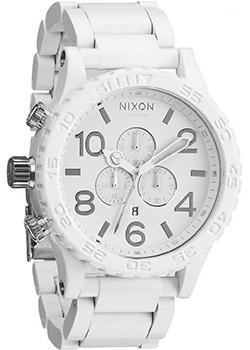 Nixon Часы Nixon A083-1255. Коллекция 51-30 Chrono часы nixon time teller deluxe leather navy sunray brow