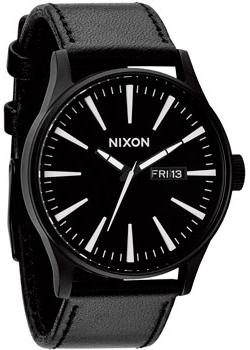 Nixon Часы Nixon A105-005. Коллекция Sentry часы nixon corporal ss matte black industrial green