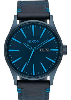 Nixon Часы Nixon A105-2224. Коллекция Sentry часы nixon genesis leather white saddle