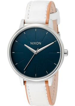 Nixon Часы Nixon A108-321. Коллекция Kensington часы nixon time teller deluxe leather navy sunray brow