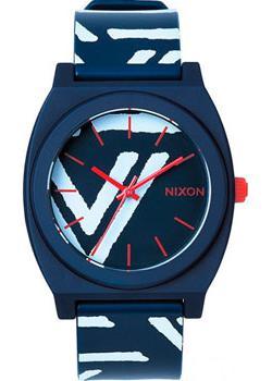 Nixon Часы Nixon A119-684. Коллекция Time Teller часы nixon corporal ss matte black industrial green