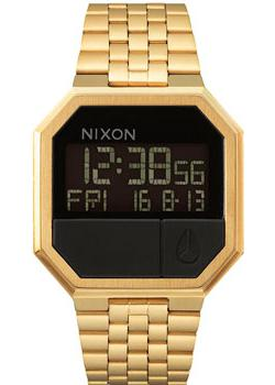 Nixon Часы Nixon A158-502. Коллекция Re-Run часы nixon re run leather all black