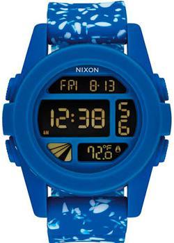 Nixon Часы Nixon A197-2303. Коллекция Unit часы nixon time teller deluxe leather navy sunray brow