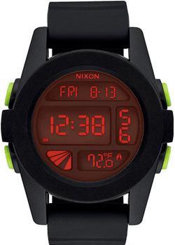 Nixon Часы Nixon A197-760. Коллекция Unit электронные часы nixon unit all black red