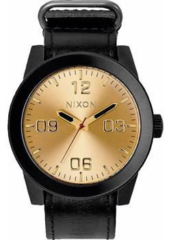Nixon Часы Nixon A243-010. Коллекция Corporal часы nixon time teller deluxe leather navy sunray brow