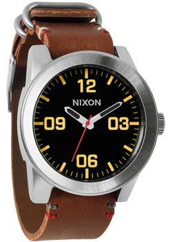 Nixon Часы Nixon A243-019. Коллекция Corporal часы nixon time teller deluxe leather navy sunray brow