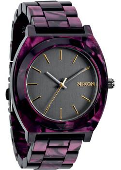 Nixon Часы Nixon A327-1345. Коллекция Time Teller часы nixon time teller deluxe leather navy sunray brow