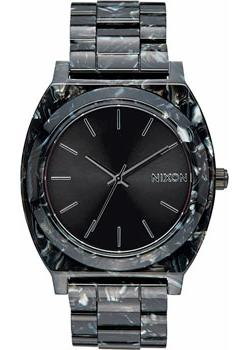 Nixon Часы Nixon A327-2185. Коллекция Time Teller часы nixon time teller deluxe leather navy sunray brow