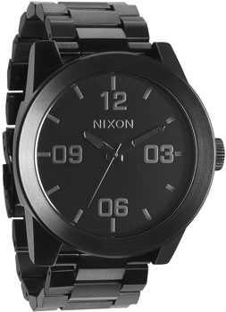 Nixon Часы Nixon A346-001. Коллекция Corporal часы nixon time teller deluxe leather navy sunray brow