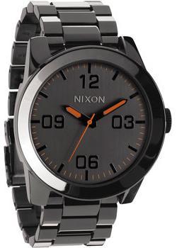 Nixon Часы Nixon A346-1235. Коллекция Corporal nixon часы nixon a346 1062 коллекция corporal