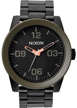 цена Nixon Часы Nixon A346-1530. Коллекция Corporal онлайн в 2017 году