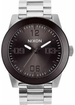 Nixon Часы Nixon A346-1762. Коллекция Corporal часы nixon time teller deluxe leather navy sunray brow