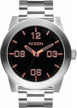 цена Nixon Часы Nixon A346-2064. Коллекция Corporal онлайн в 2017 году