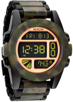 Nixon Часы Nixon A360-1428. Коллекция Unit polar a360 blue