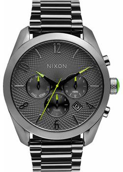 Nixon Часы Nixon A366-131. Коллекция Bullet часы nixon time teller deluxe leather navy sunray brow