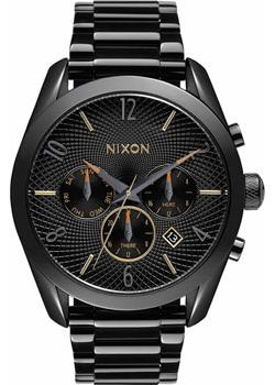 Nixon Часы Nixon A366-1616. Коллекция Bullet часы nixon time teller deluxe leather navy sunray brow