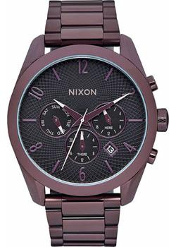 Nixon Часы Nixon A366-2172. Коллекция Bullet часы nixon genesis leather white saddle