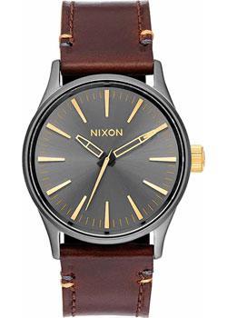 Nixon Часы Nixon A377-595. Коллекция Sentry часы nixon g i nylon silver surplus